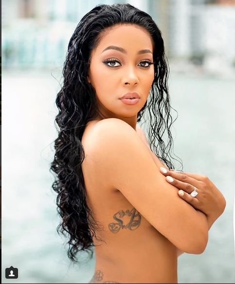 Monica Brown poses topless for new shoot