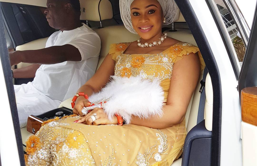 Warri Billionaire Ken Bramor's and Ehi Ogbehor's 8 month old marriage reportedly on the rocks