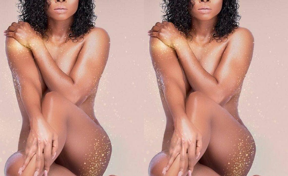 Toke Makinwa goes nude