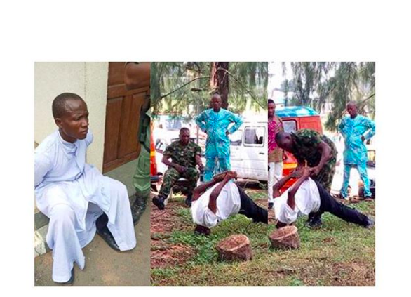 Thief dressed as a priest arrested in Imo