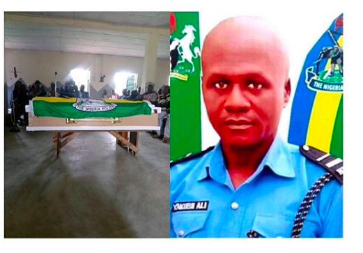 Police officer just promoted dies on his way to resume new office