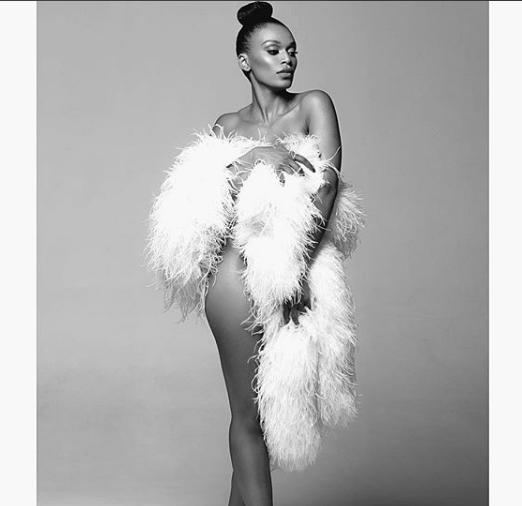 Pearl Thusi strips down to nothing as she poses for sexy new photo