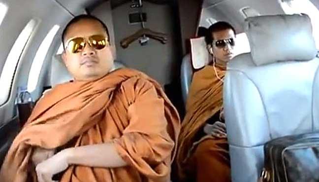 Ex-Thai Buddhist monk jailed 114 years for fraud