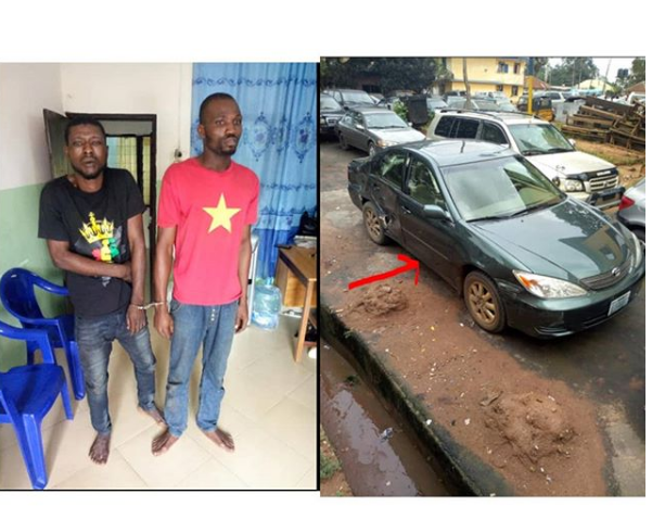 SARS arrest armed robbery while driving stolen vehicle in Imo state