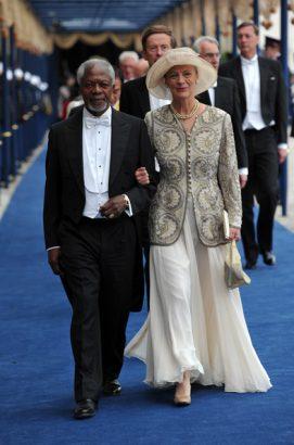 Mrs Annan reveals how her husband Kofi Annan died