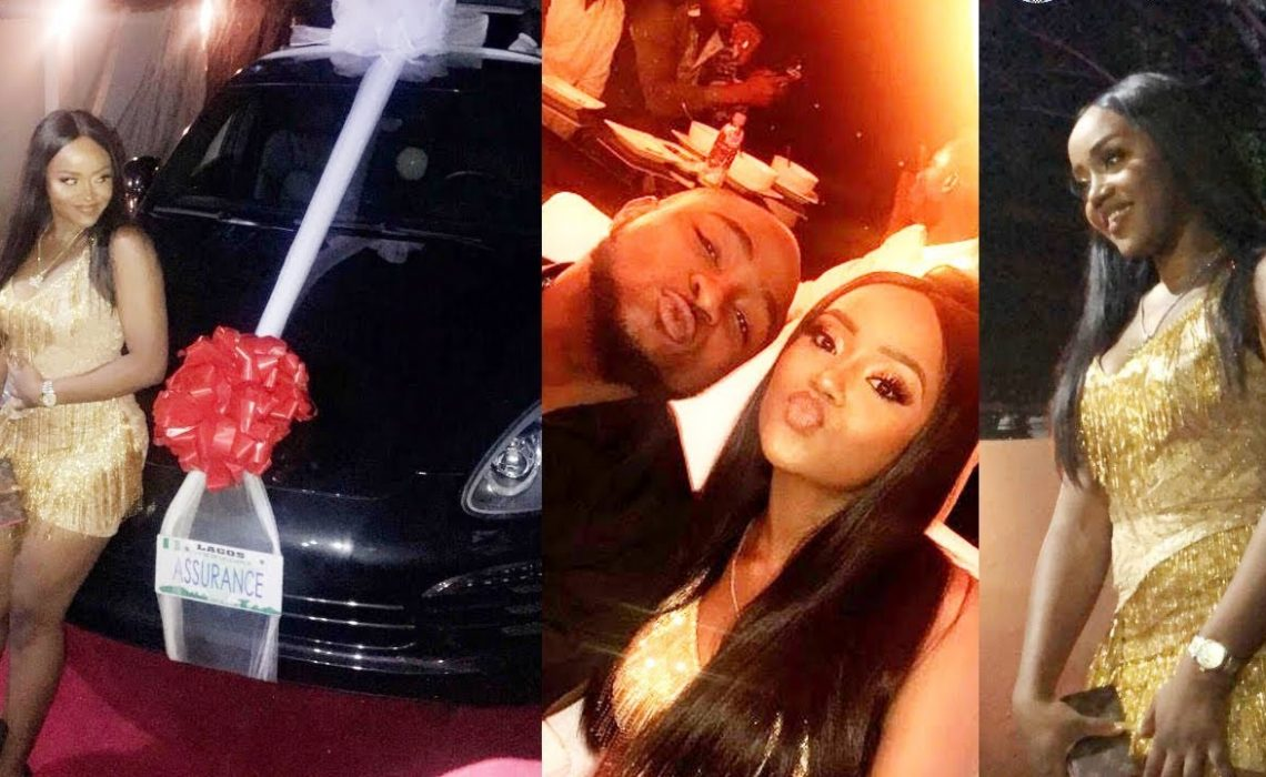 Davido reveals why Chioma has never been spotted in the Porsche he gifted her