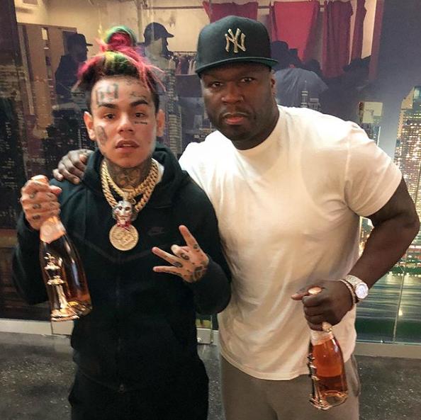 Shots fired as 50 Cent, Tekashi 6ix9ine film music video in Brooklyn