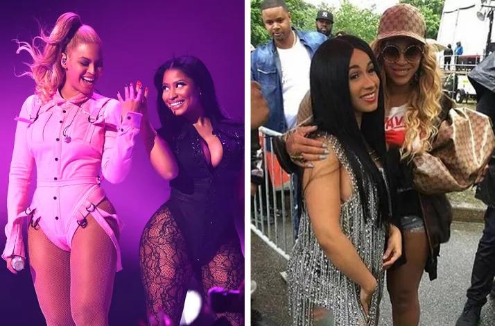 Has Beyonce picked a side in  Cardi B and Nicki Minaj feud?