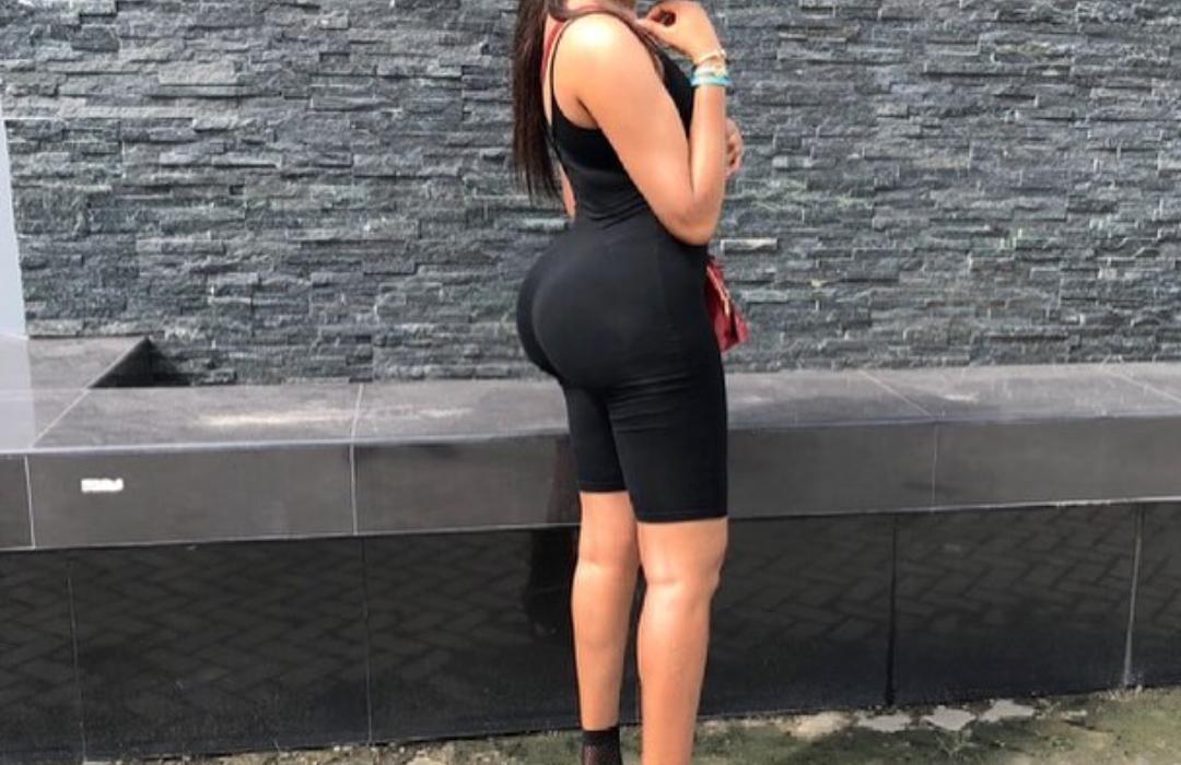 Dabota Lawson flaunts massive bum,claps back at butt implant comment