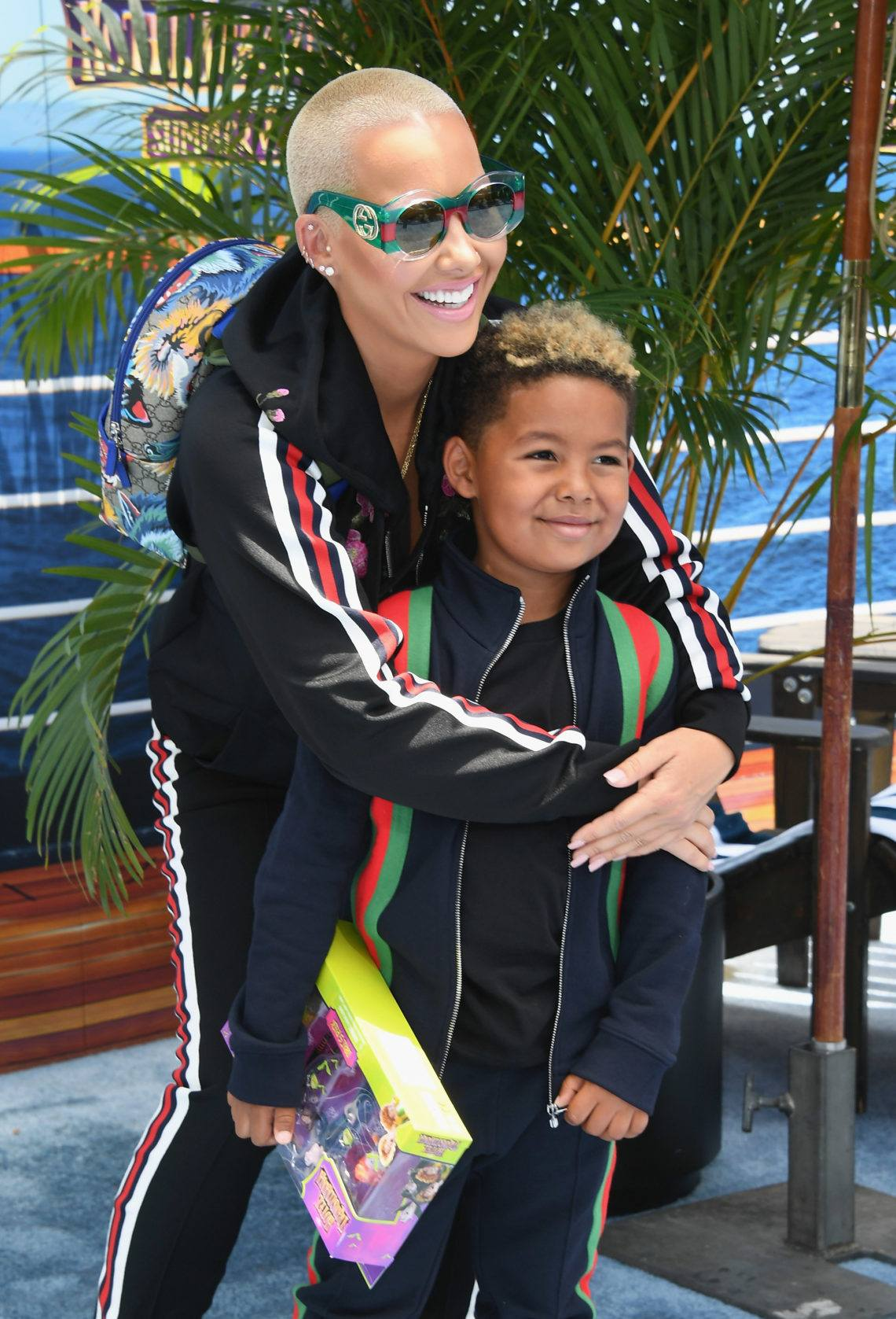 Amber Rose reveals why she lets her 5 year old son curse