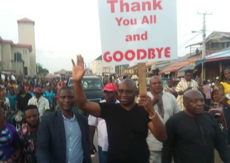 I'll always be with you, Fayose says as he leaves Ekiti