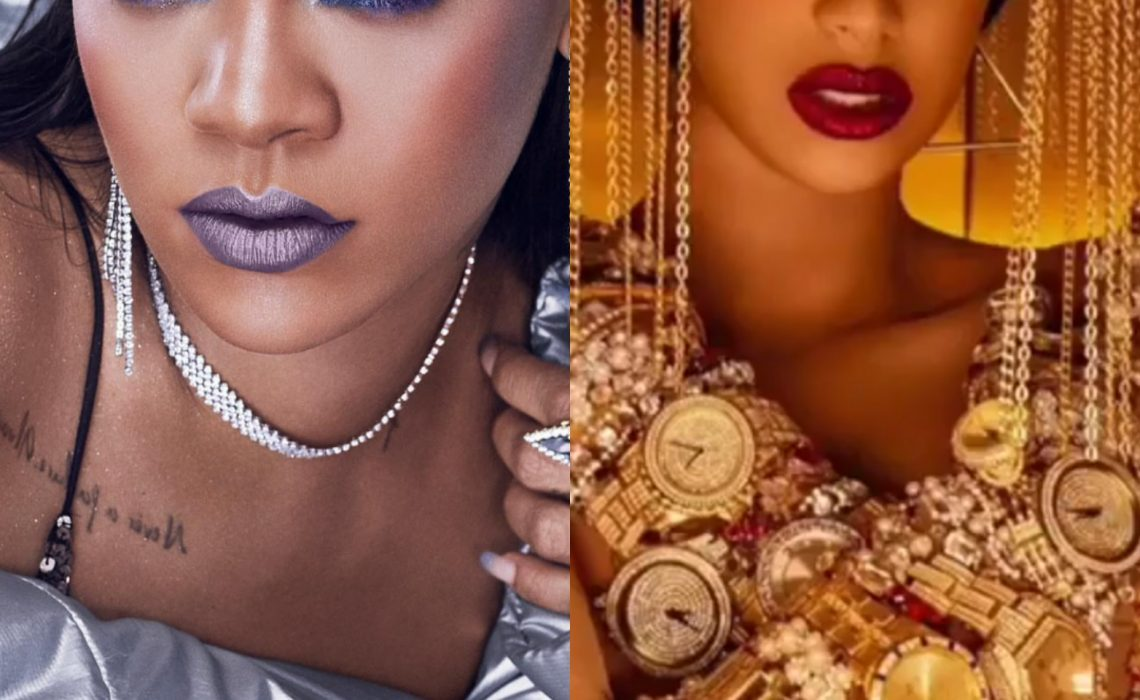 """Rihanna called Cardi B Gold Gloves """"Most Ghetto Sh*t I've Ever Seen"""""""