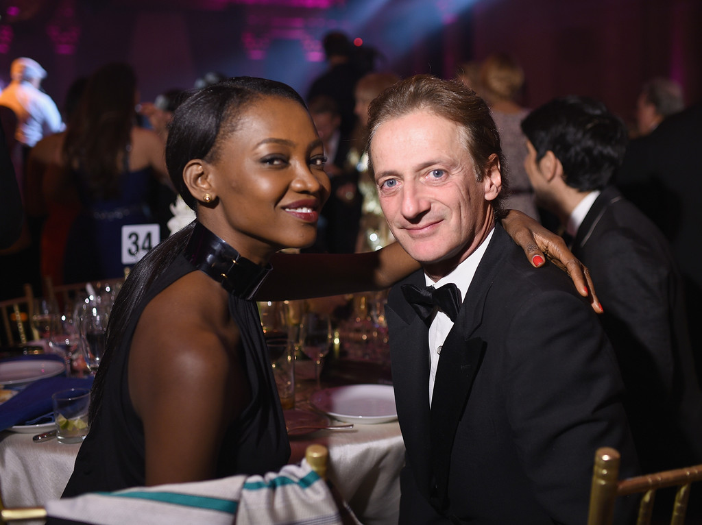 Oluchi Orlandi and husband Lucas Orlandi pictured in 2014