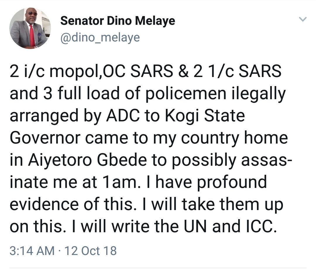 Dino Melaye survives another assasination attempt :Nigerians react