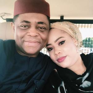 Fani Kayode and wife, Precious Chikwendu