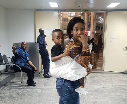 Tonto Dikeh reveals she almost lost her son,slams the devil