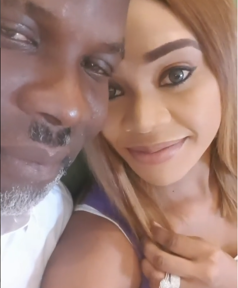 Photos: Ehi Ogbehor publicly apologizes to billionaire husband Ken Bramor