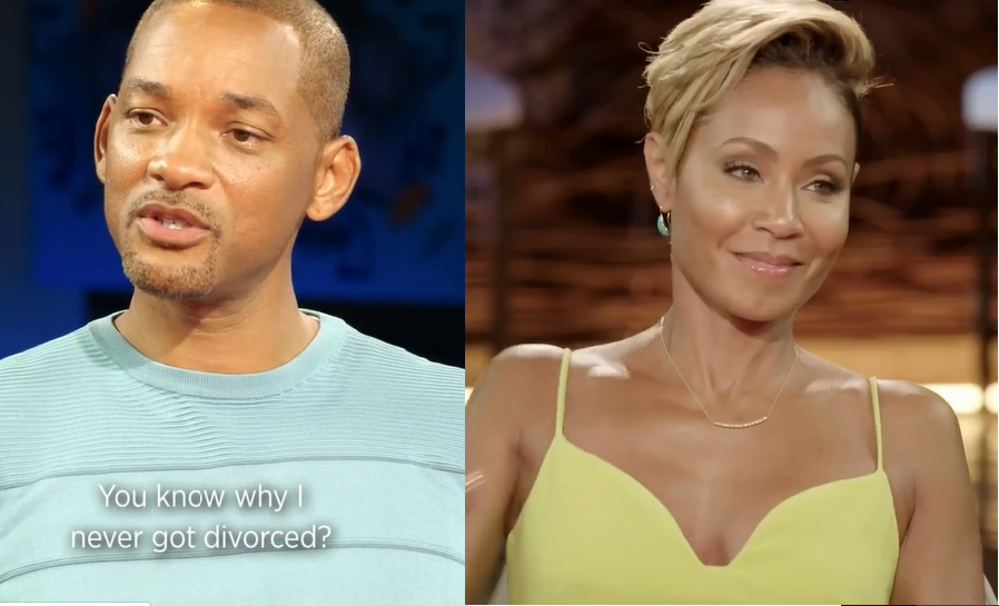 Jada Pinkett tells Will Smith why they never got divorced