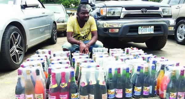 Why I produce fake wine products- Suspect