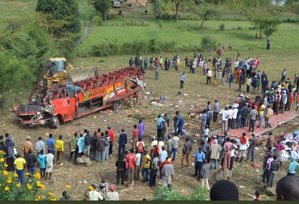 51 killed in Kenyan Bus Crash