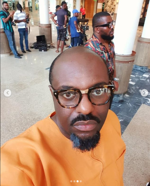 Jim Iyke goes bald for a movie role
