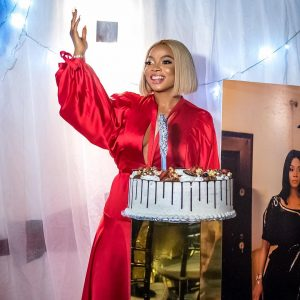 Toke Makinwa 34th birthday party