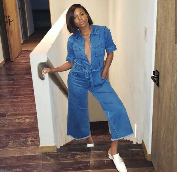 Gabrielle Union gushes over the smell of her baby