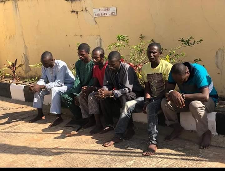 Suspected killers of Kaduna monarch paraded
