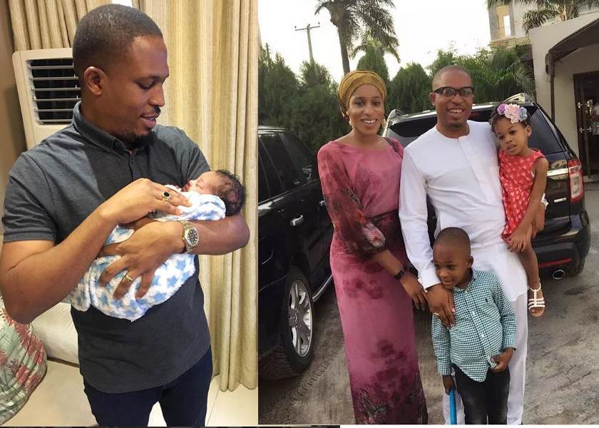 Naeto C and wife welcome 3rd child ,Naeso