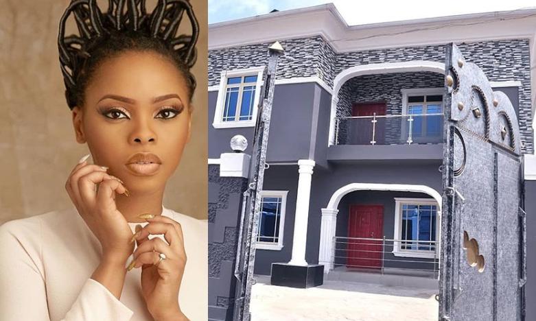 Chidinma Ekile builds her mum a house
