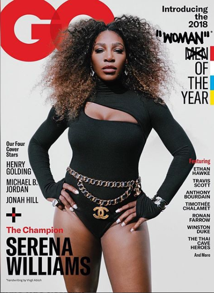 Serena Williams named GQ woman of the year