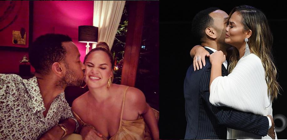 John Legend moves Chrissy Teigen to tears