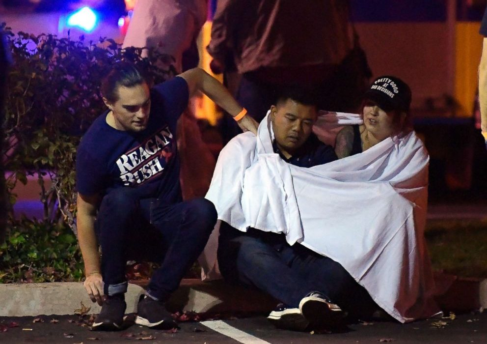 12 killed as gunman opens fire at crowded bar in California
