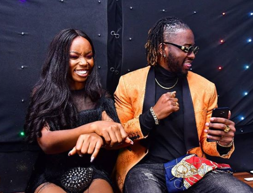 #BBNaija See photos from Teddy A and Bam Bam's homecoming party