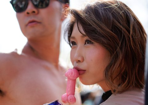 Photos from the annual penis festival