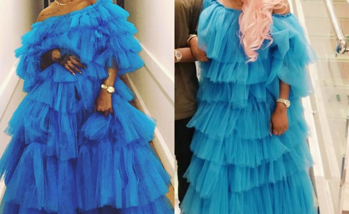 Battle of the frills ! Rihanna vs Tayo Sobola