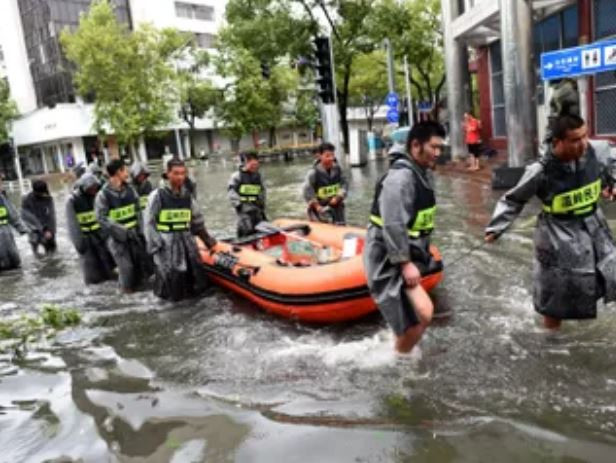 28 people dead, 20 missing after super typhoon made landfall in China
