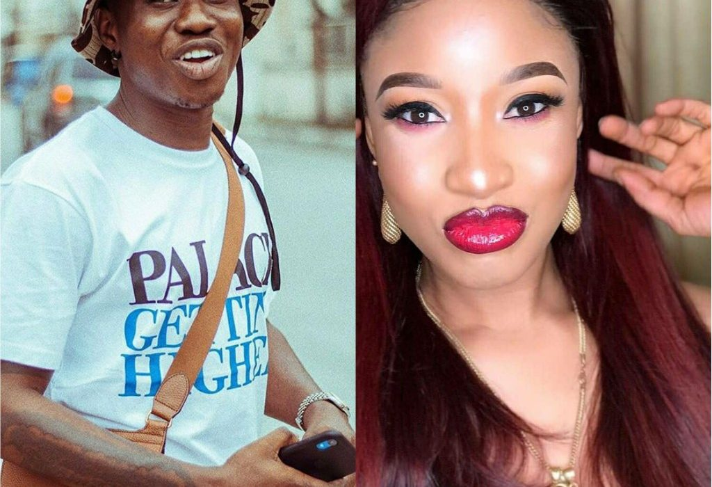 """""""Why you dey frown your face"""" – Zlatan Questions Tonto Dikeh"""