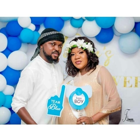 Photos from Actress Toyin Abraham's Baby Shower in Dubai